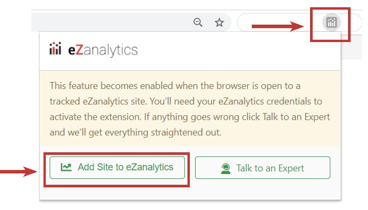 eZanalytics Browser Extension