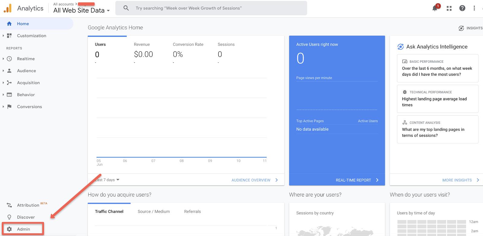 Google Analytics View ID